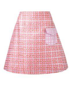 INGIE PARIS | Brocade A-Line Skirt