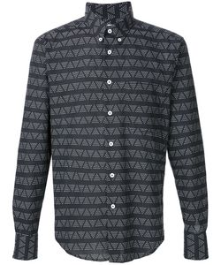 NAKED AND FAMOUS | Triangle Print Shirt