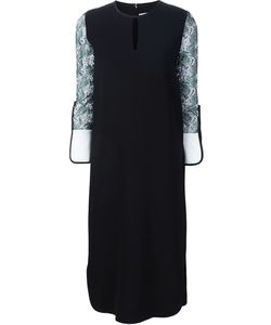 MAME | Embroidered Sleeve Shift Dress