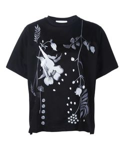 MAME | Flower Embroidery T-Shirt