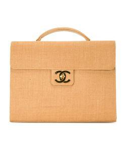 Chanel Vintage | Портфель Из Рафии