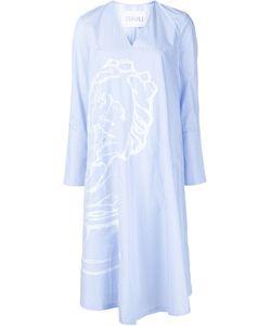 XIAO LI | Longsleeved V-Neck Dress