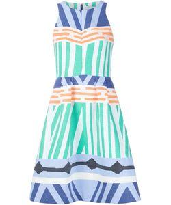 NOVIS   Geometric Print Flare Dress