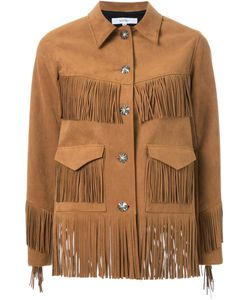 MURRAL | Fringed Faux Suede Jacket