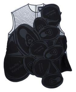 XIAO LI | Sheer Panel Blouse