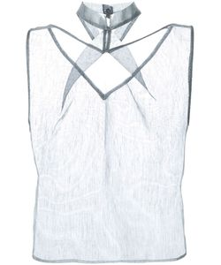 Iris Van Herpen   Woven Stripe Top