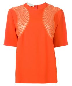 Stella Mccartney | Mesh Inset T-Shirt
