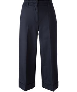 Moncler | Cropped Wide Leg Trousers