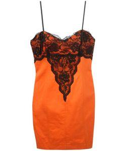Alberta Ferretti Vintage | Платье С Кружевной Отделкой