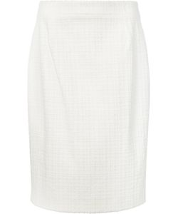 Carolina Herrera | Canvas Pencil Skirt