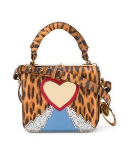 Sophie Hulme | Leopard Heart Mini Bag Calf