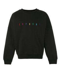 GOSHA RUBCHINSKIY | Multicoloured Embroidered Logo Sweatshirt