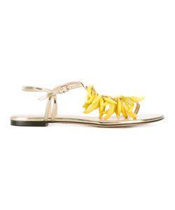 Charlotte Olympia | Banana Embellished Sandals