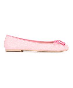 Pretty Ballerinas | Front-Bow Ballerinas 36 Leather/Rubber/Lurex