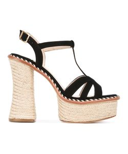 Paloma Barceló   Platform Espadrille Sole Sandals