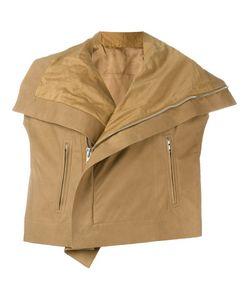 Rick Owens | Байкерская Куртка С Короткими Рукавами