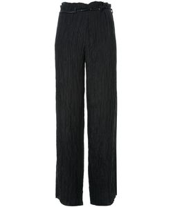 MA+ | Belted Wide-Leg Trousers