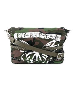 Valentino | Garavani Rockstud Mariposa Messenger Bag Cotton/Leather