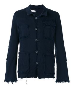 Nostra Santissima | Raw Edge Jacket 46 Cotton/Spandex/Elastane