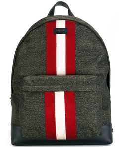 Bally | Contras Stripe Backpack Leather/Nylon