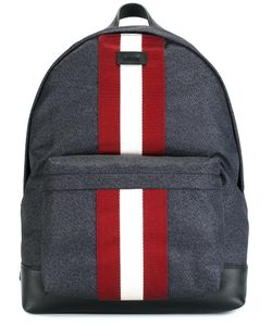 Bally | Contrast Stripe Backpack Nylon/Leather