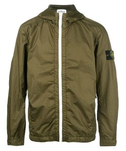 Stone Island | Hooded Zip Jacket Xl Polyamide-8/Polyurethane Resin