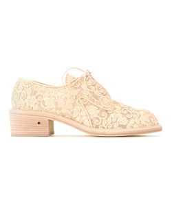 Laurence Dacade | Embroide Lace-Up Shoes 38 Cotton