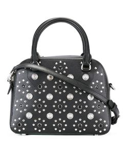 Versus | Flower Studded Tote Calf Leather/Metal Other/Cotton