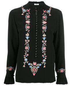 VILSHENKO | Embroidery Blouse 10 Silk