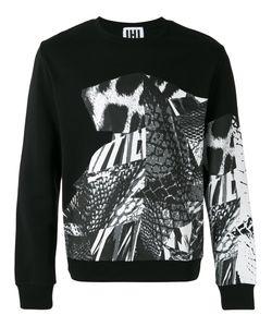 Les Hommes Urban | Multi-Pattern Sweatshirt Size Large