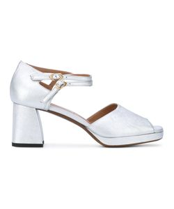 L' Autre Chose | Lautre Chose Dorsay Court Platform Sandals Calf