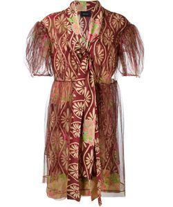 Simone Rocha | Тюлевое Платье С Цветочным Принтом