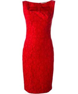 Ermanno Scervino | Приталенное Кружевное Жаккардовое Платье
