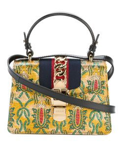 Gucci | Sylvie Brocade Mini Bag Leather