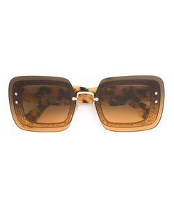 Miu Miu | Tortoise Square Frame Sunglasses