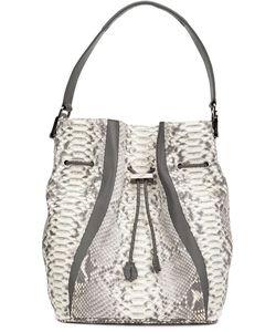 KHIRMA ELIAZOV | Python Skin Bucket Bag