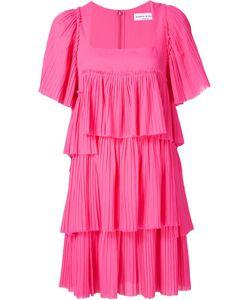 Sonia Rykiel | Многоярусное Платье С Квадратным Вырезом