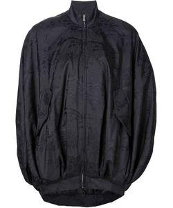 Moschino | Куртка-Кокон С Принтом Caution