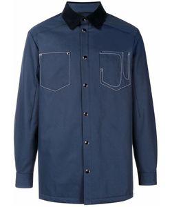 Givenchy | Куртка-Рубашка С Контрастным Воротником