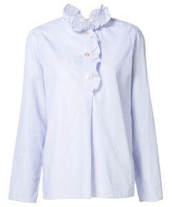 ATLANTIQUE ASCOLI | Ruffle Trim Shirt