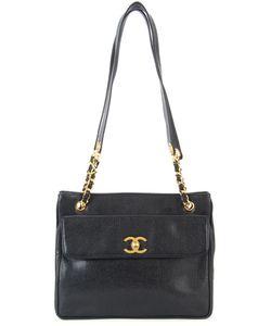 Chanel Vintage | Сумка На Плечо С Цепочной Отделкой