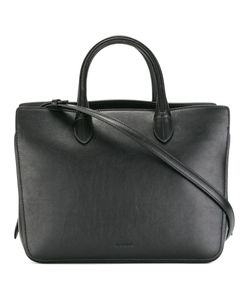 Jil Sander | Logo Embossed Tote Leather