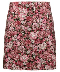 Adam Lippes | Mini Brocade Pencil Skirt Women