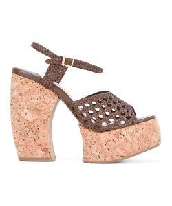 Paloma Barceló   Woven Platform Sandals Size 39