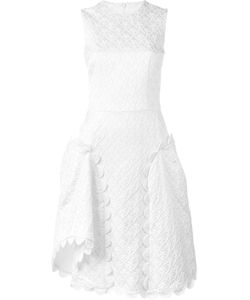 Simone Rocha | Жаккардовое Платье С Фестонами