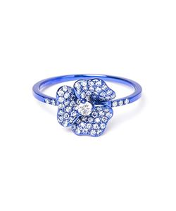 AS29 | Diamond Flower Ring
