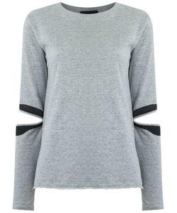 Andrea Bogosian | Cut Out Details Sweatshirt