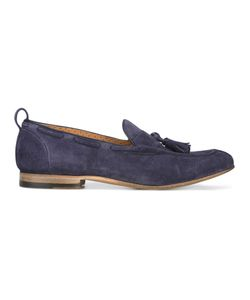 Silvano Sassetti | Tassel Loafers 7 Leather/Rubber/Suede