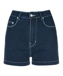 Amapô | High Waisted Denim Shorts Women