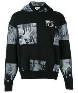 C.E. | C.E. Patch Print Hooded Sweatshirt